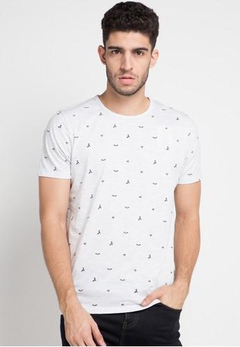 Cressida white Cressida Printed T-Shirt E115 C94B8AA9E364CBGS_1