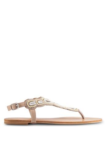 Billini beige Jaipur Sandals BI606SH0RT31MY_1