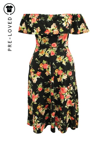 Reformation multi Pre-Loved reformation Off Shoulder Floral Maxi Dress 81D9FAA17AD718GS_1