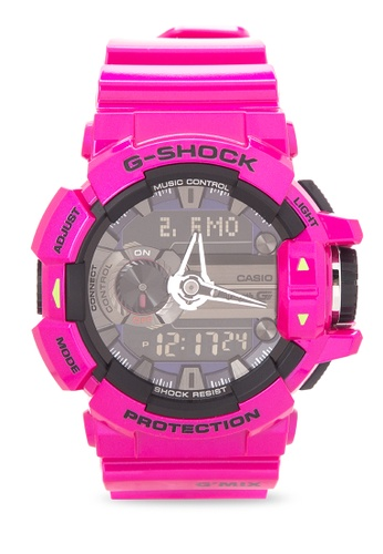 0ac59a5cda0d Shop Casio G-SHOCK Digital Analog Watch GBA-400-4C Online on ZALORA ...