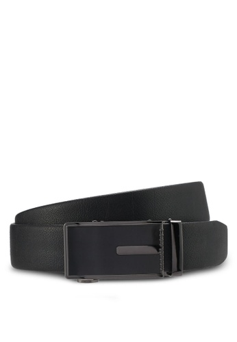 UniqTee brown Classic Genuine Leather Belt UN097AC0SYSMMY_1