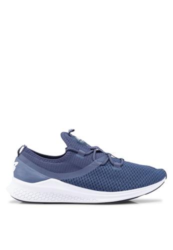 New Balance blue LAZR Fresh Foam Future Sport Shoes 3CB0DSH420BD96GS_1