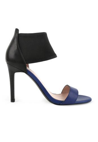 Joy & Peace blue Two Strap Heels JO458SH80YGTHK_1