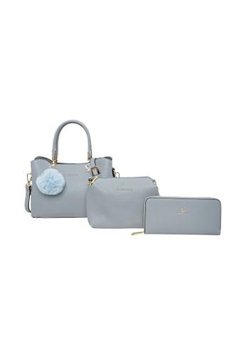 LancasterPolo blue Lancaster Polo Lil-Shelley Handbag, Sling Bag, Wallet 3 in 1 Bundle Set 6C4E0ACC1E052DGS_1