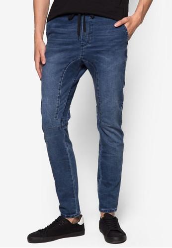 束口丹寧窄管長褲、 服飾、 長褲CottonOn束口丹寧窄管長褲最新折價