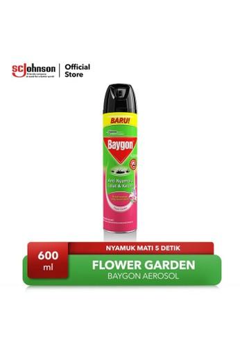 Baygon Baygon Aerosol Flower Garden 600ml E019FESFC93F95GS_1