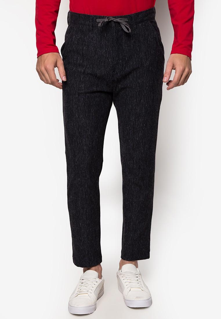 Slim Marled Trousers