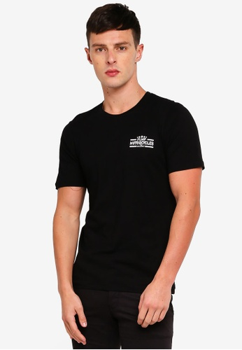Flesh IMP 黑色 印花T恤 B5147AAB3C1434GS_1
