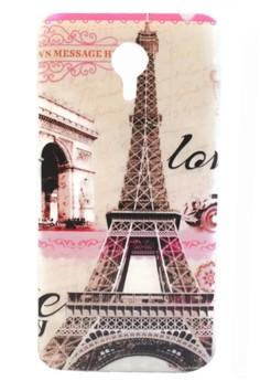 Meizu M1 Note Paris Eiffel Tower Design TPU Case