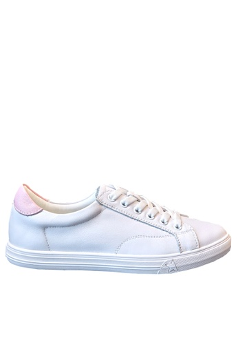 Twenty Eight Shoes Basic Leather Lace Up Sneakers RX8253 483DCSHF72CD0BGS_1