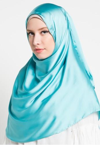 Aira Muslim Butik blue Kalila Pashmina AI892AA40ZQTID_1