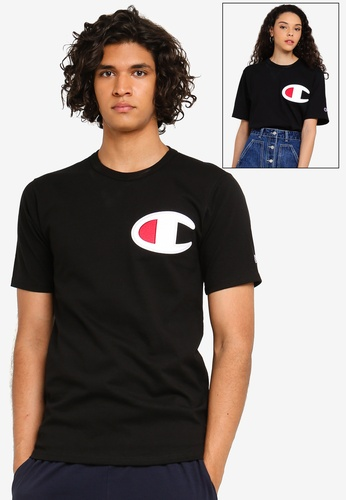 63f6d5f13879 Champion black US Range Heritage Tee Graphics - Champion Script Embroidery  BC545AAB74A4A2GS_1