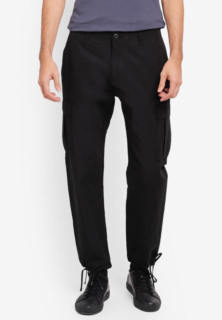 Original Cargo Topman Black Black Trousers OU6yffAg
