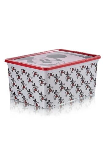 HOUZE HOUZE - Mickey - 15L Geometric Click Box (Disney) 5D037HL3AA7B1DGS_1