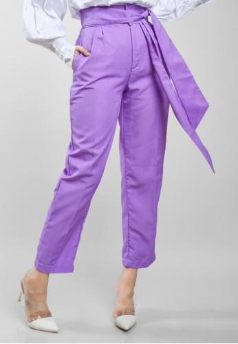 Renatha lilac purple Jenna Pants 15B22AAC0CF615GS_1