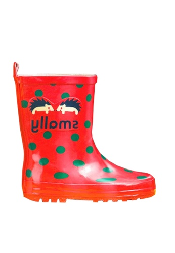 Twenty Eight Shoes red VANSA Stylish Mid Rain Boots VSK-R369 09432KS1ECD270GS_1