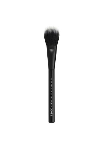 NYX Professional Makeup NYX Professional Makeup Pro Dual Fiber Powder Brush 8E762BE20124AEGS_1