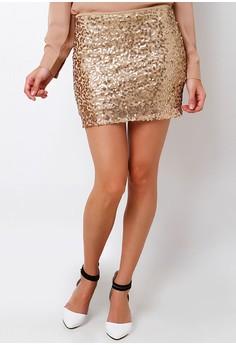 La Playa Sequin Skirt