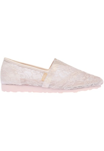 paperplanes Paperplanes-1327 Charming Floral Mesh Slip-Ons Sneakers Shoes US Women Size PA355SH64PZNSG_1