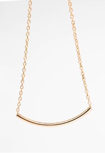 Leline Style gold Sven U-Pendant Necklace LE802AC0GYHMSG_1