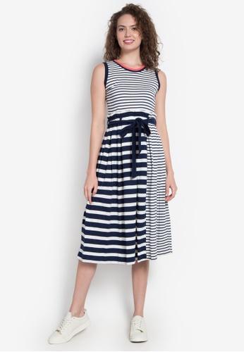 Blued white Dionne Dress BL427AA0KFF7PH_1