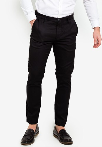 ESPRIT black Woven Length Service Pants EBCADAAF2FE4F8GS_1