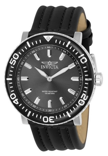 47915aec919 INVICTA black and silver Invicta I-Force Men 48mm Case Stainless Steel  Stainless Steel Strap