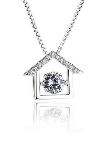 LYCKA silver LPP88059 S925 Silver Necklace C520AAC8273521GS_1