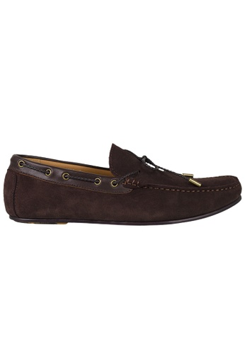 Tomaz brown Tomaz C318 Suede Leather Braided Loafers (Coffee) FB2CASHF32BECAGS_1