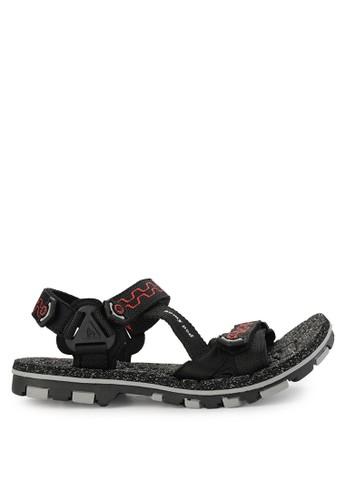 Homyped black Nabire Sandal Gunung Pria C65FCSH565DB7DGS_1