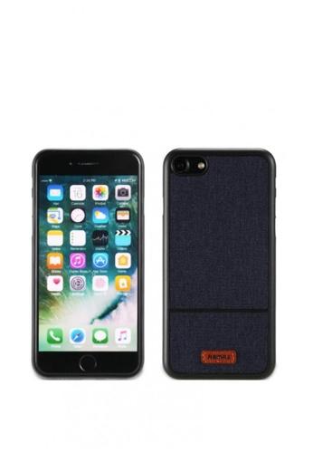 Stylebox blue Remax Fabric Series Phone Case for iPhone 7 1B5B6AC214F5CEGS_1