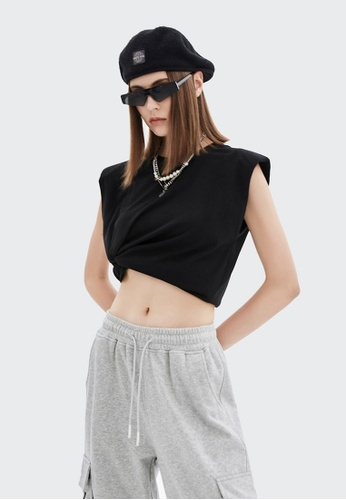 Twenty Eight Shoes Loose-Fitting Sleeveless T-shirt 6322GS21 467ABAA6E42DCEGS_1