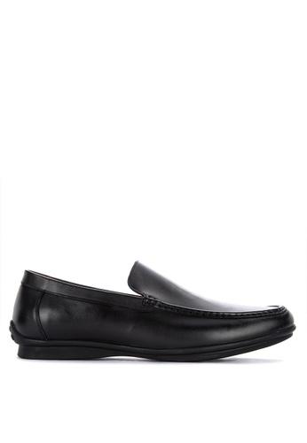 Gibi black Nom 009 Slip-On Formal Shoes 12F71SH56B1A93GS_1