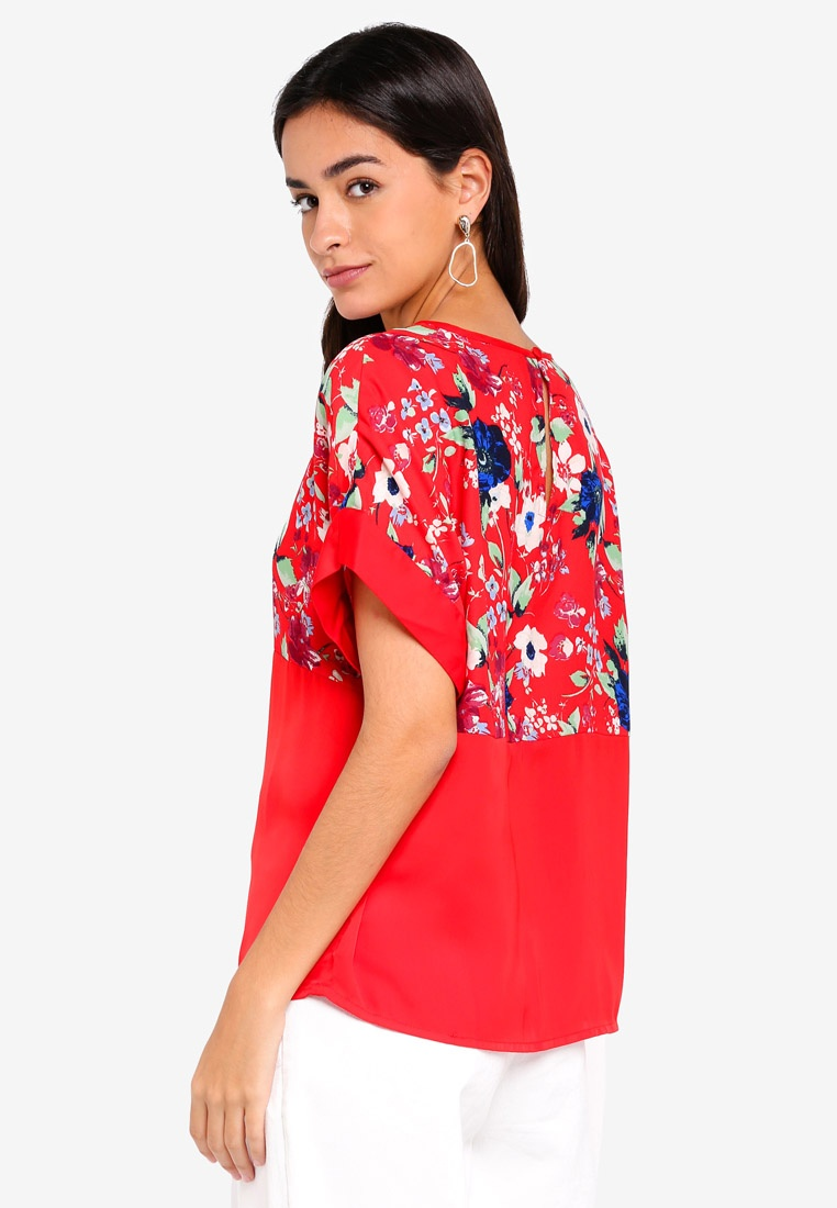 2 Chinese Penny Top Zoe Moda 4 Vero Red zwBqn