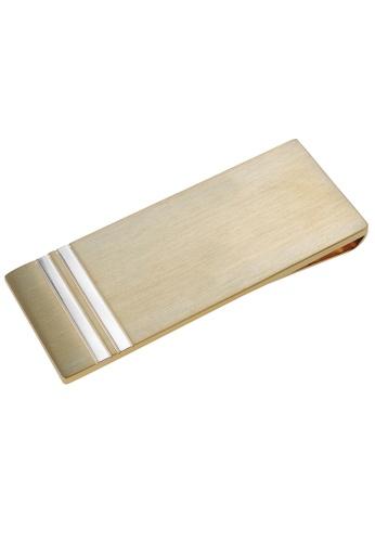 CUFF IT silver Brush Gold Two Tone Money Clips CU047AC80ZHVHK_1