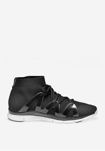 ASH black Jaguar - Black Mesh Weaving Sneakers 6FA1CSH38DB668GS_1