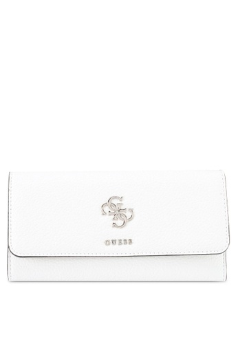 Guess white Dania Multi Wallet 77AB3AC6C7805DGS_1