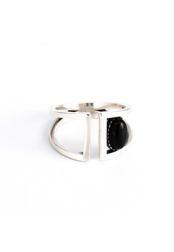 OrBeing white Premium S925 Sliver Geometric Ring 9361EACD276364GS_1