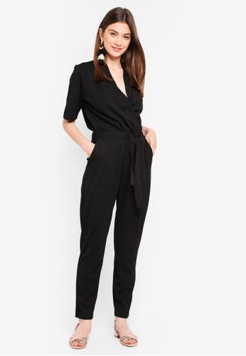 JACQUELINE DE YONG black Honey Jumpsuit 15060AA7D8A2E9GS_1