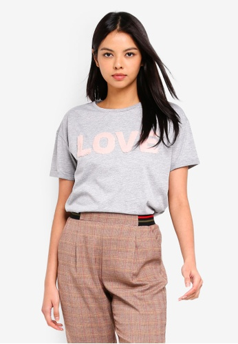 ESPRIT grey Short Sleeve T-Shirt 6AC3CAA610F78CGS_1