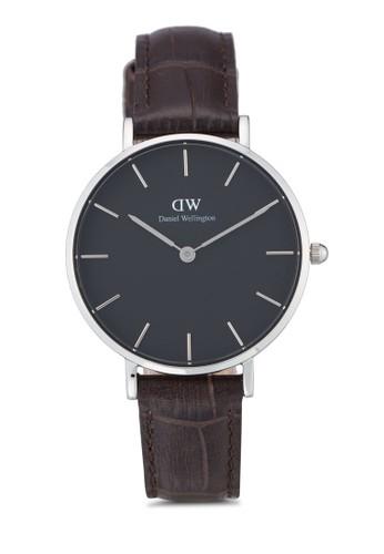 Daniel Wellington brown Classic Petite York Watch DA965AC0UKSWID_1