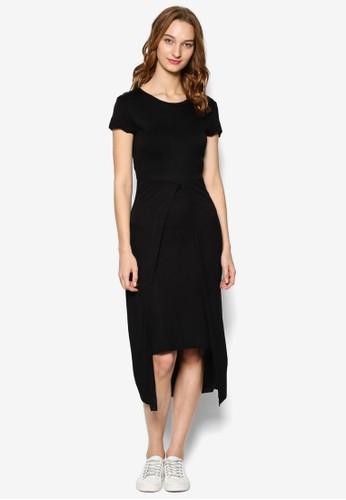 KN Sea Goldie 覆蓋式裙擺圓領短袖連身裙, 服飾, 洋esprit 尖沙咀裝