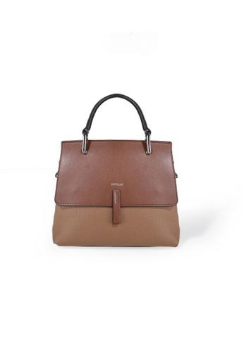 Esfolar brown Esfolar Satchel Bag (EA190017) 2F404AC1F756FEGS_1