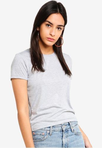 Factorie grey Basic T Shirt BEB3FAA1190B3AGS_1