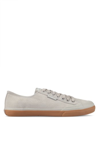 Superdry grey Low Pro Luxe Sneakers 7B5D5SHA84CFB1GS_1