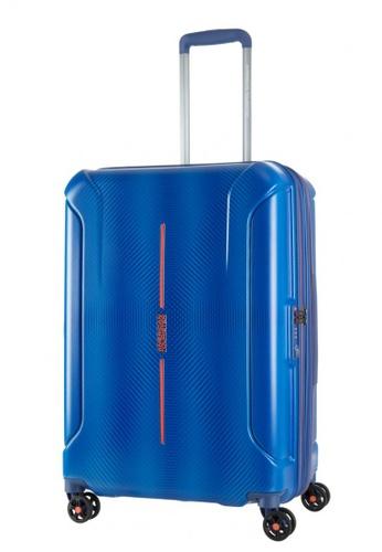 American Tourister blue American Tourister Technum Spinner 68/25 Exp TSA 1539FAC2F39465GS_1