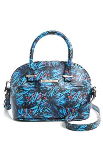 時尚esprit手錶專櫃棕欖葉潮流斜背包 藍, 包, 斜背包