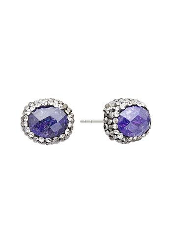 Fervor Montreal purple Fervor Montreal-Druzy Earrings Oval 154A0AC92D9979GS_1