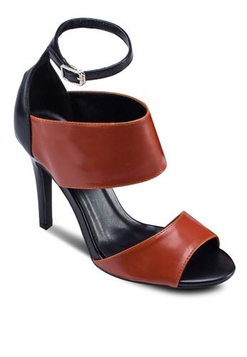 雙帶高跟涼鞋zalora 手錶 評價, 女鞋, 細帶高跟鞋