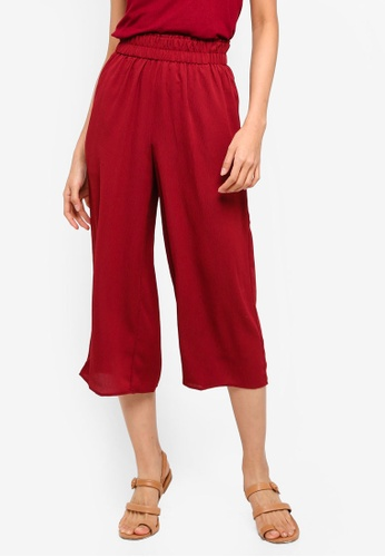 Cotton On red Jessie Culottes C7998AAA8B58DEGS_1